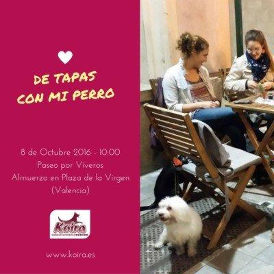 Octubre 2016 En Koira Adiestramiento Canino nos vamos de Tapas con el perro