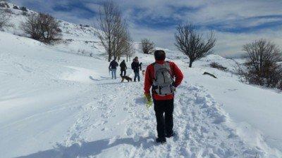 salida a la nieve con los perros enero 2017 #4
