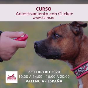20200223 Curso Adiestramiento con Clicker 1080x1080