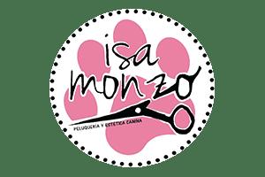 Logo peluqueria y estetica canina Isa monzo alboraya